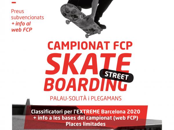Competición oficial de Skateboard en Palau Solità i Plegamans 2020